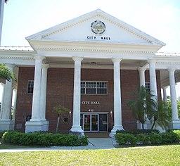 LaBelle, Florida: City hall.